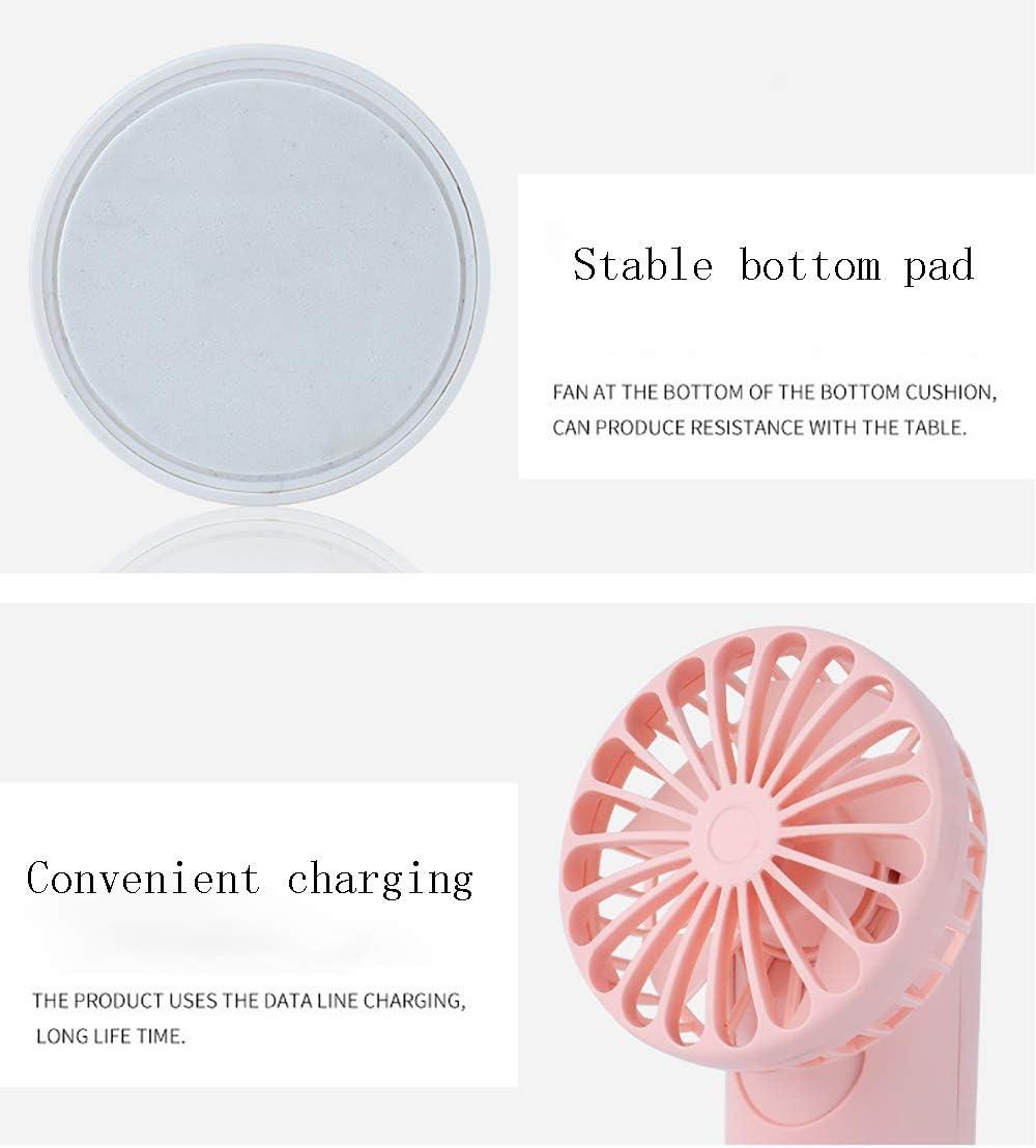 6-inch USB Charging Portable Handheld Desktop Mini Fan adapts to Office Dormitory