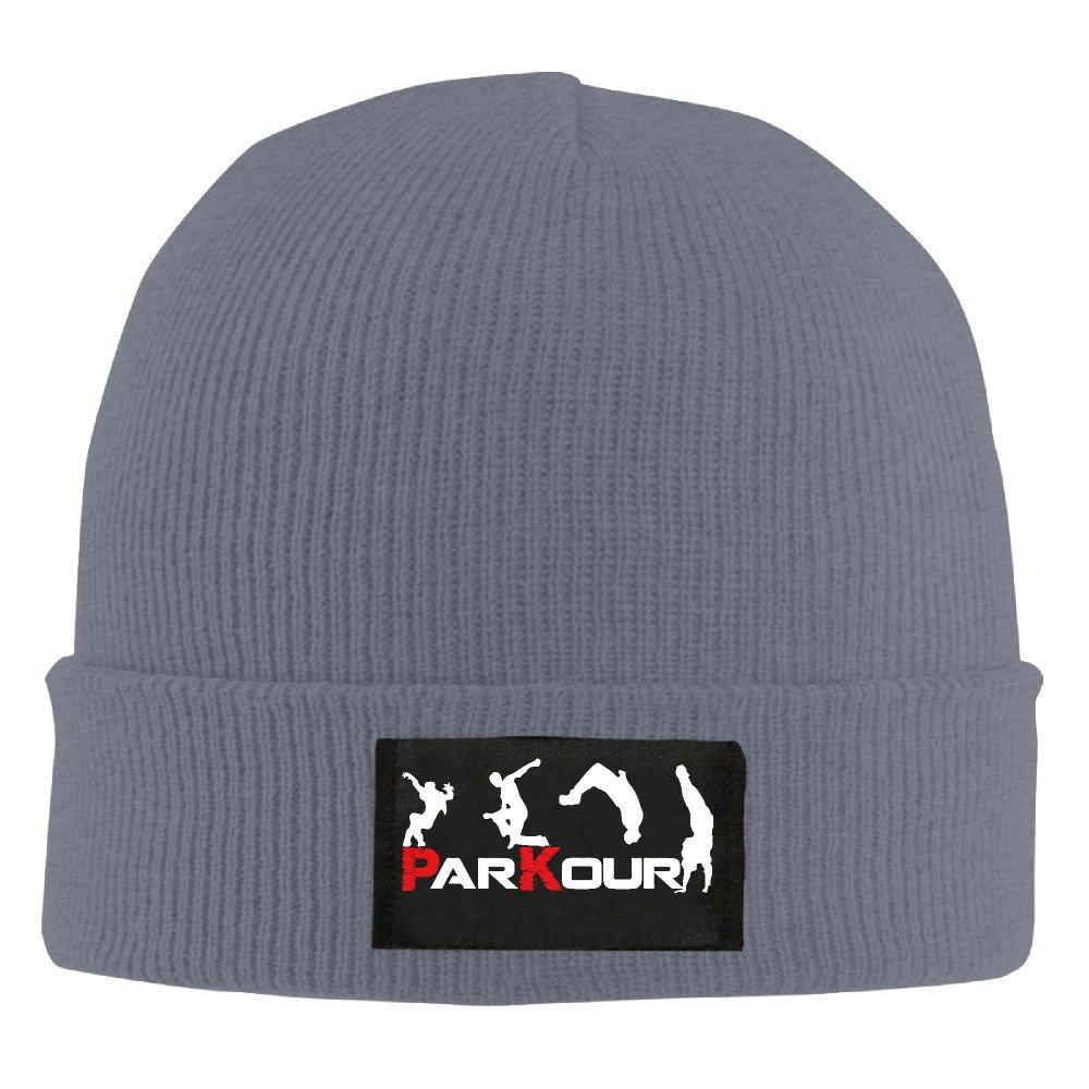 Runningway Cool Parkour Sports Extreme Knit Winter Beanie Hat Skull Cap Unisex