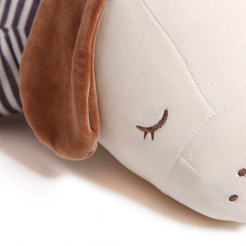 Niuniu Daddy 16 Super Soft Plush Puppy Stuffed Animal Toy Plush Soft Dog Hugging Animal Puppy Shape Sleeping Kawaii Pillow