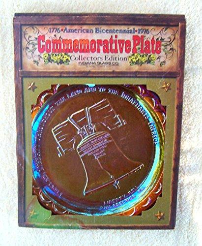 Commemorative Plate - American Bicentennial - Liberty Bell - 1976