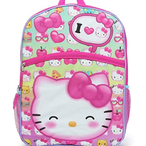 a5aae98ab Image Unavailable. Image not available for. Color: Hello Kitty 5-Piece  Backpack Set ...