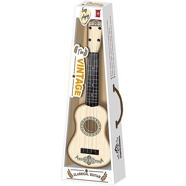 VenGo 4 Cuerdas Instrumento Musical Juguete Ukelele Pequeña ...