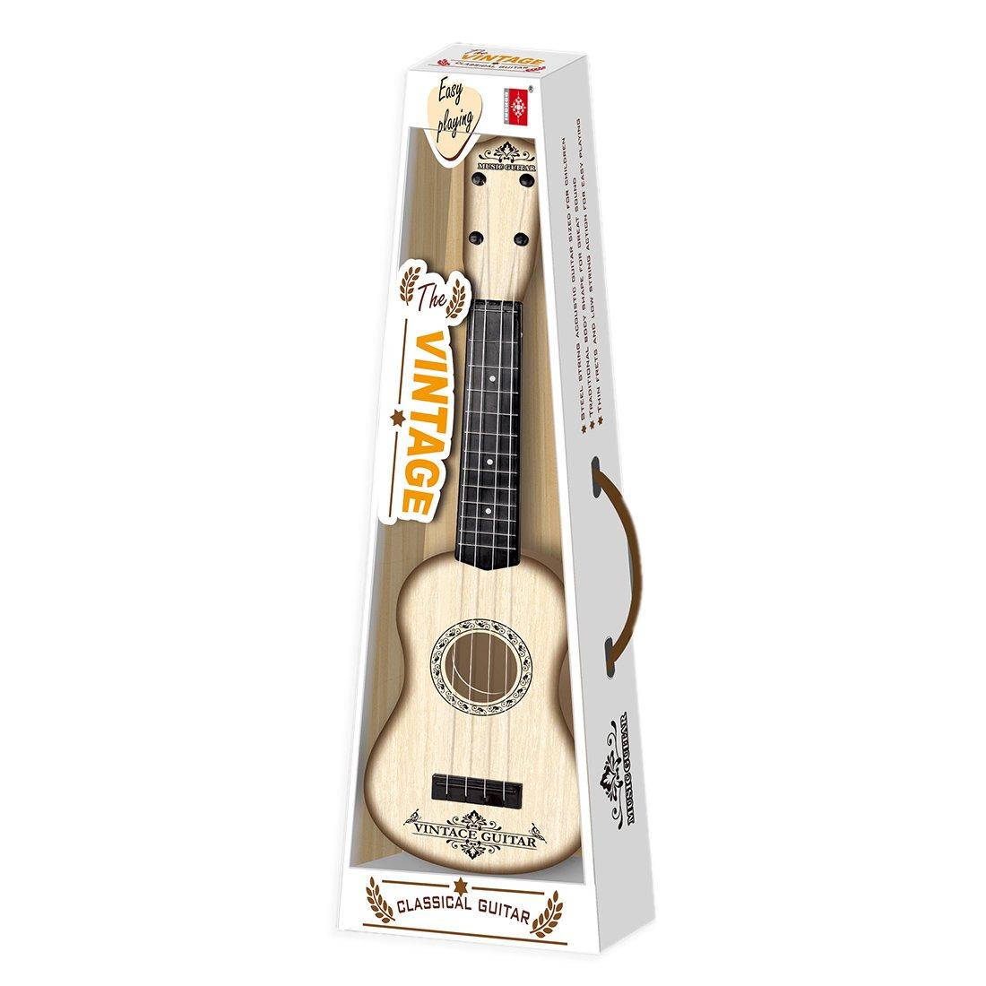 VenGo 4 Cuerdas Instrumento Musical Juguete Ukelele Peque/ña Guitarra para Ni/ños Educaci/ón Temprana