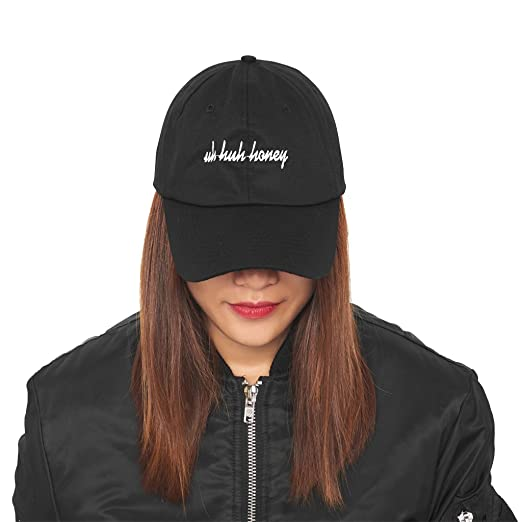 05f6ca4a998 Image Unavailable. Image not available for. Color  Uh Huh Honey Embroidered Dad  Hat ...