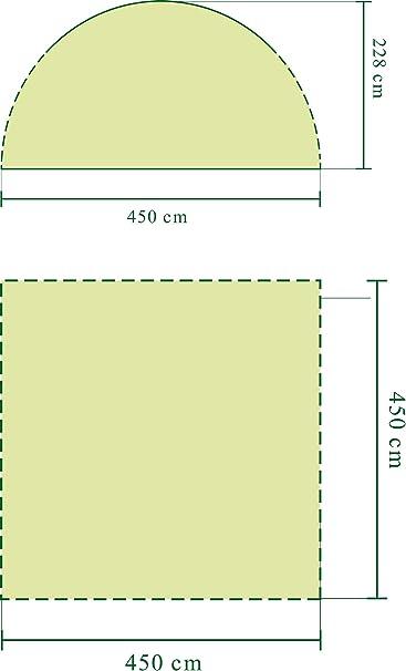 Coleman Carpa Cenador para Festivales, Jardín y Camping, Construcción Robusta de Mástiles, Gazebo con Protección Solar SPF 50 Zelt Event Shelter, Blanco-Verde, XL: Amazon.es: Deportes y aire libre