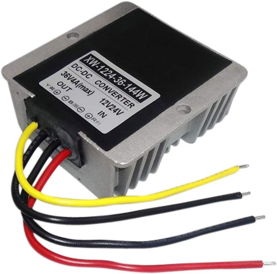 XUPHINX Supply Converter DC 12V//24V To DC 36V4A 144W Step Up Power Supply Converter Regulator Module