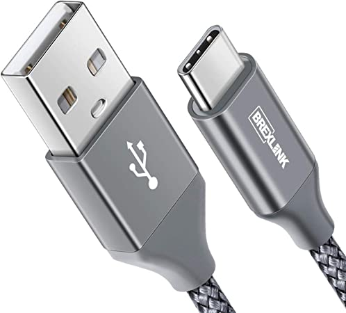 2Pack 2M+2M NIBIKIA USB C Kabel, 3A Ladekabel Typ C und Datenkabel Fast Charge Sync Schnellladekabel f/ür Samsung Galaxy S10//S9//S8+,Huawei P30//P20,Google Pixel,Xperia XZ,OnePlus 6T