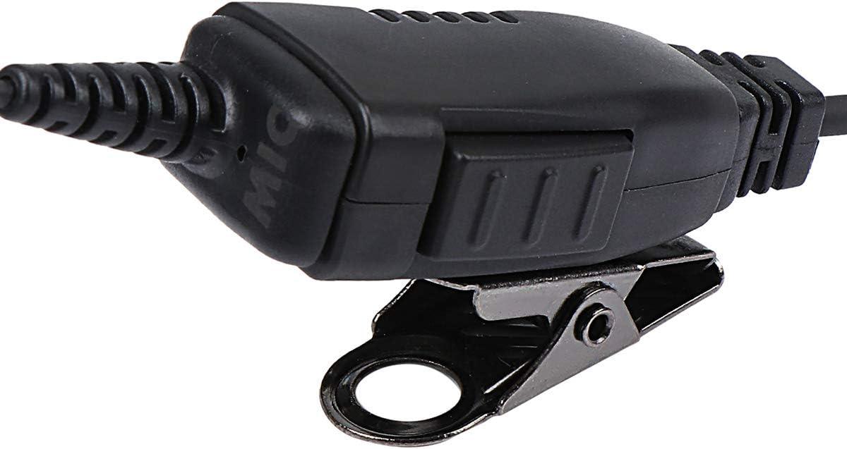 abcGoodefg Walkie Talkie Earpiece 1 Pin G Shape Earpiece Headset with Mic PTT for Motorola SL300 SL7550 7580 7590 SL4000 SL1K SL1M 2 Way Radio