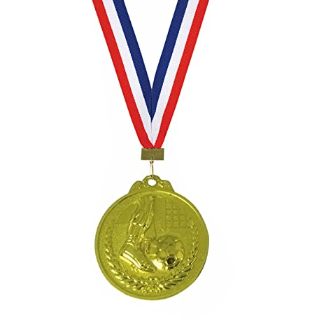 photo regarding Printable Medals called Trophy Shopping mall Soccer Gold Medal ( 2.5 Inch Diameter )With No cost Customizable / Printable Paper - By now For the Very first Season upon Amaozn - Personalize your Personal