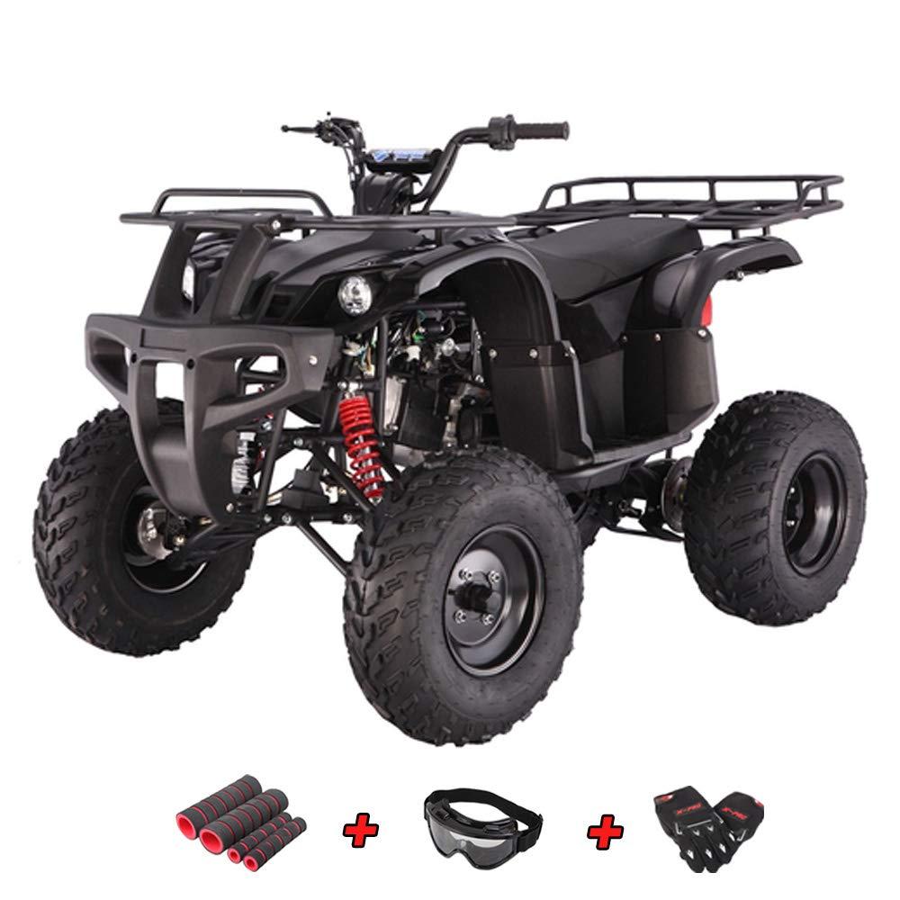 Goggle and Handgrip X-Pro 150cc ATV Quad Utility Full Size ATVs Quads 150cc 4 Wheeler Adult ATV with Gloves