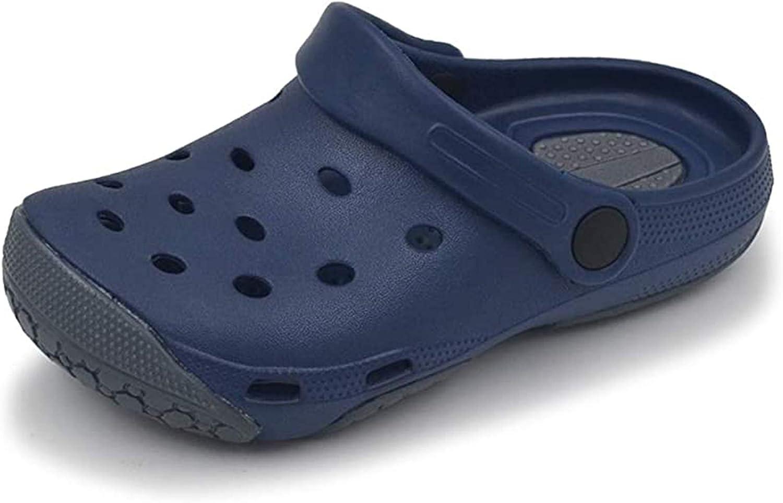 Oxgmoky Kids' Garden Clogs Slippers Sandals Water Shoes