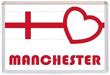 Manchester - Love Inglaterra/Inglés St George de la bandera ...
