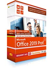 Microsoft® Office 2019 PRO (Professional Plus) DVD mit original Lizenz. S2 Software-Box. Papiere & Zertifikate. Alle Sprachen 32 & 64bit