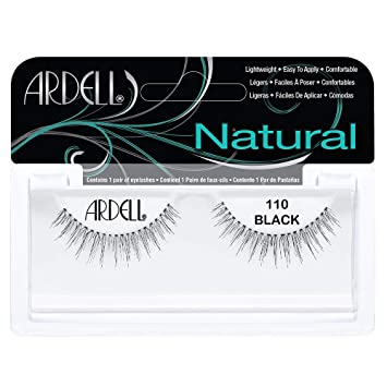 444b3ab4a08 Amazon.com : Ardell Fashion Lashes, 110 Black, 1 Pair (Pack of 3) : Fake  Eyelashes And Adhesives : Beauty
