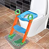 LAZYMOON Potty Trainer Seat Kids Toilet Chair Toddler...