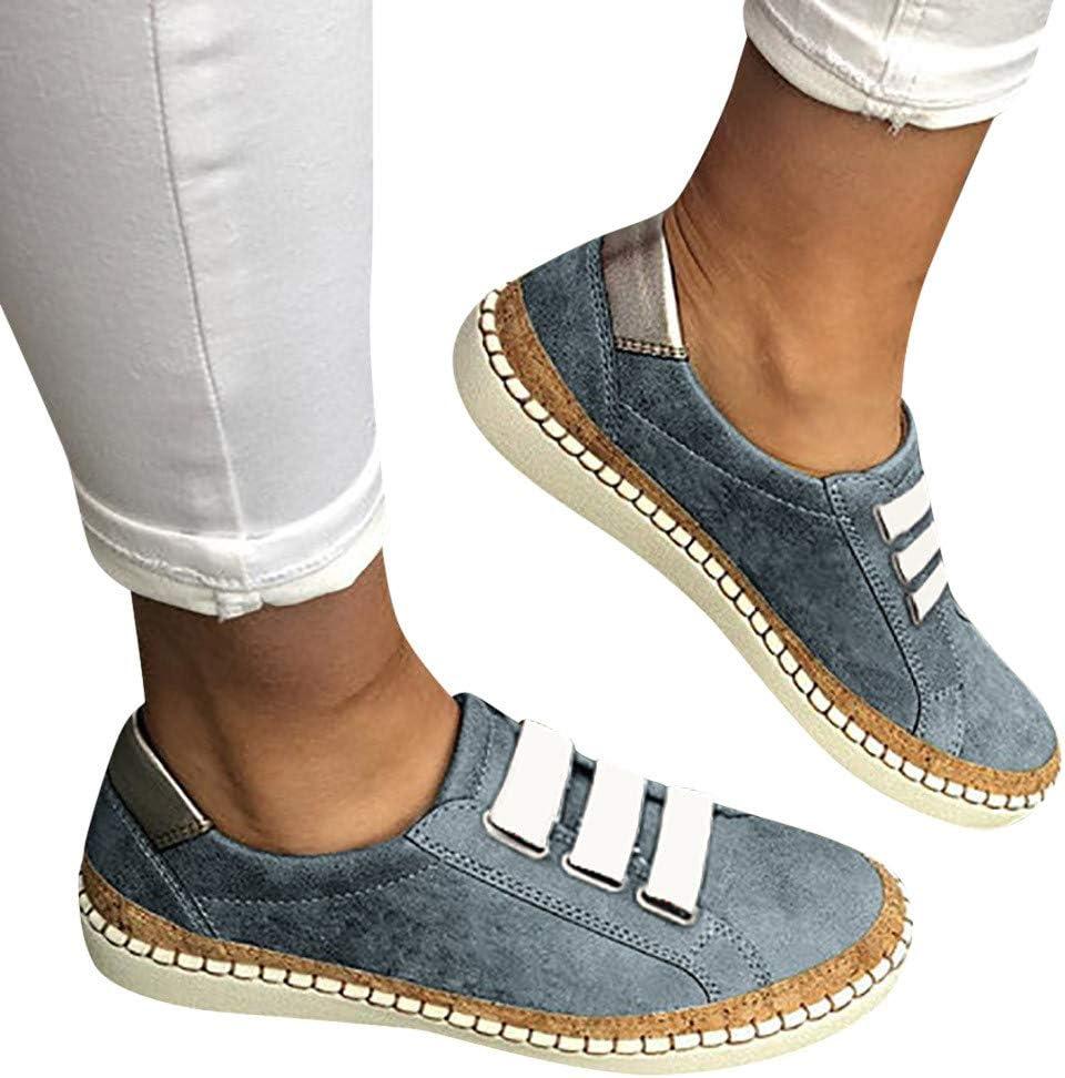AG&T Zapatos Casuales de Las señoras de la Manera Mocasines de la ...