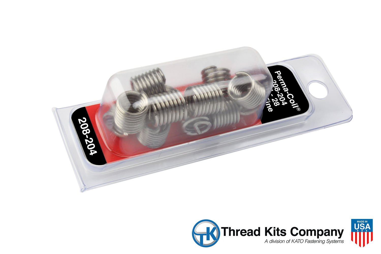 Thread Repair Kit 1//4-28 Helicoil 5528-4