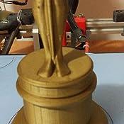 FFFworld FilaMETAL Brass 1 kg. 1.75 mm Filamento metálico para ...