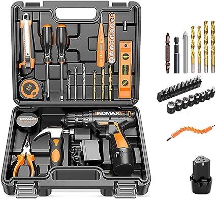 Taladro eléctrico doméstico Juego de herramientas de mano ...
