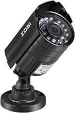 ZOSI 720P HD 1280TVL Hybrid 4-in-1 TVI/CVI/AHD/960H CVBS CCTV Camera 24PCS IR-LEDs Home Security Day/Night Waterproof Camera Aluminum Metal Housing For HD-TVI, AHD, CVI, and CVBS/960H analog DVR