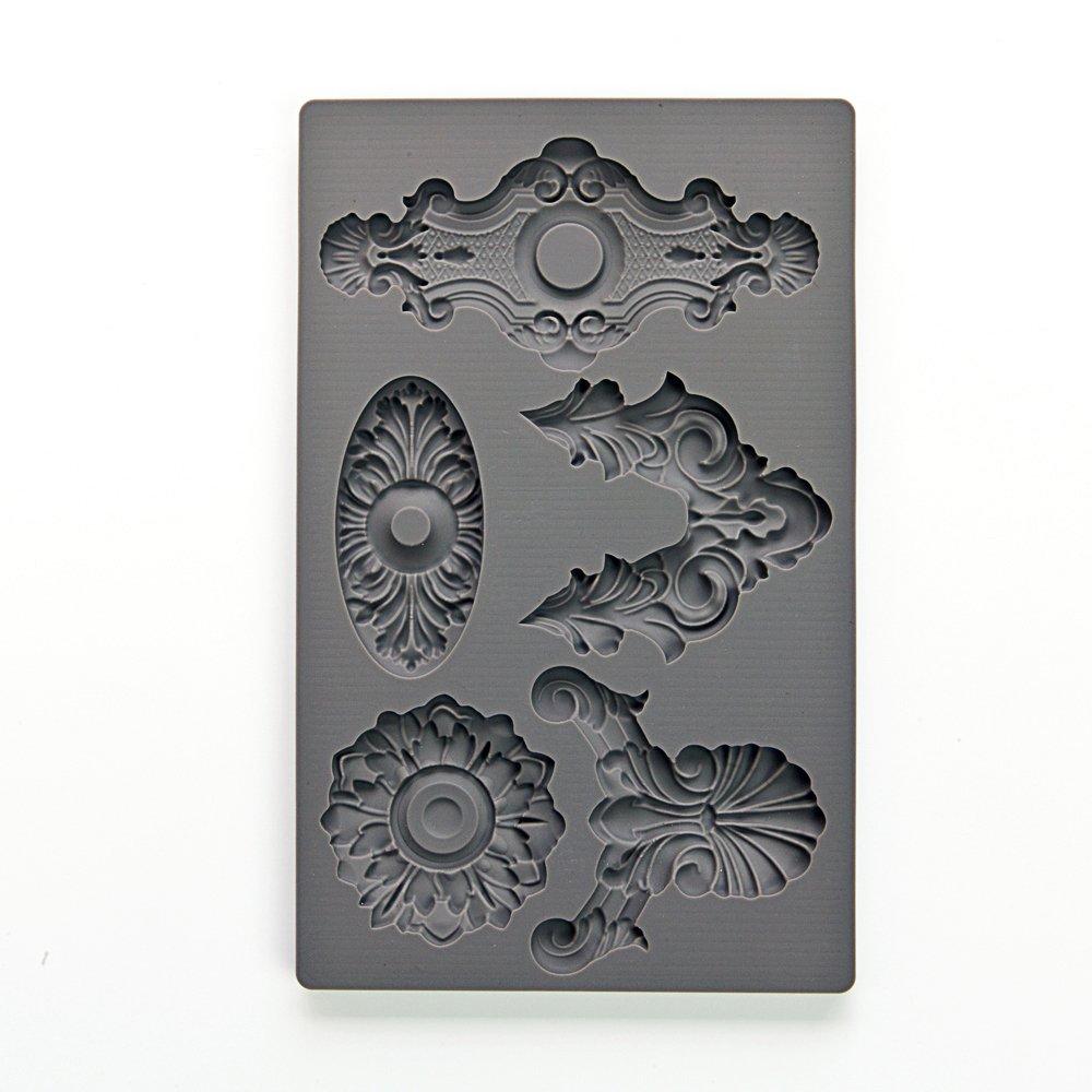 Prima Marketing 655350815288 Iod Vintage Art Decor Moulds -Escucheons 2 Prima Marketing Inc