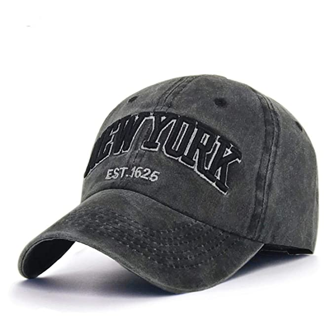 Fashion Cotton Baseball Cap Mens Snapback Hats for Women Hip Hop Gorras Bone Embroidered New York
