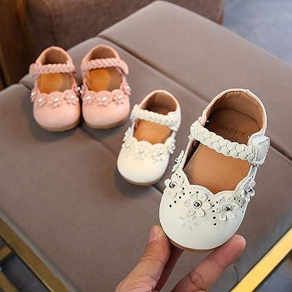 Amazon.com: Zapatos de princesa para bebés y niñas de 0 a 4 ...