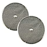 2 PACK Air Filter Factory 9-1/2 Round x 3/32 With
