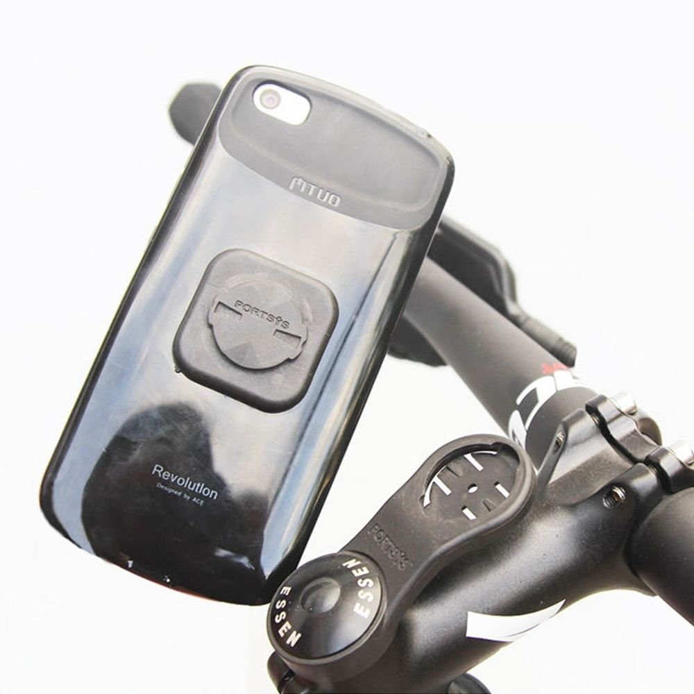 Portsys Bike Stem Computer Mount Phone Stick Adapter Holder For Garmin Edge GPS Bracket
