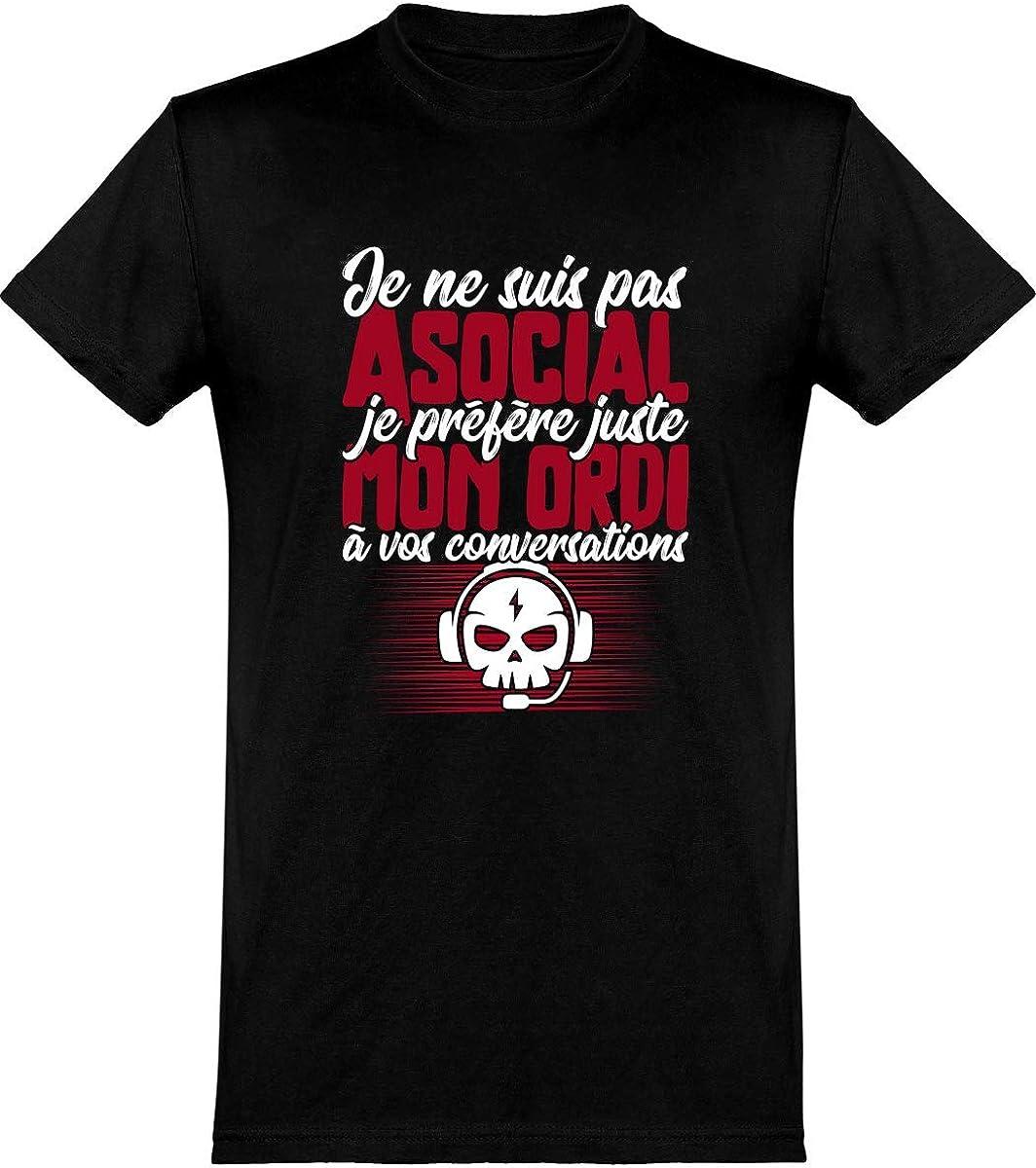 Je préfère à ne pas Homme T-Shirt Imprimé
