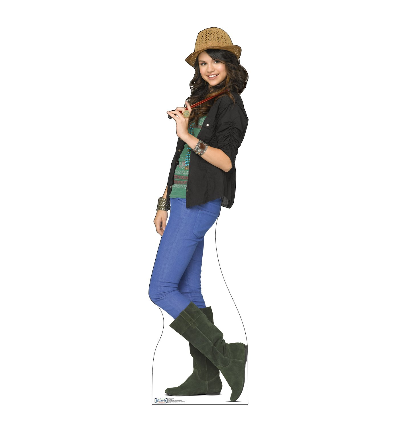 Advanced Graphics Alex Russo Life Size Cardboard Cutout Standup - Disney's Wizards of Waverly Place