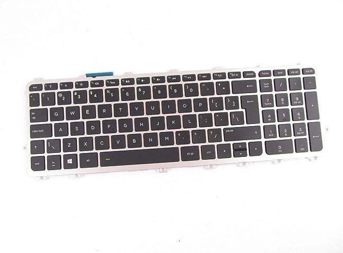 KinFor Brand Keyboard for HP Envy 15-j 17-j M7-j Series HP Envy Touchsmart M6-N M6-N010DX M6-N012DX Keyboard US Backlit 760743-001 + Clear Protector Cover