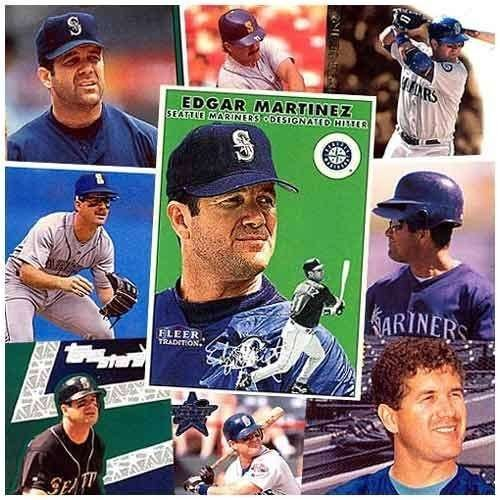 Various Brands Seattle Mariners Edgar Martinez 20 Trading Card - Brands Edgars