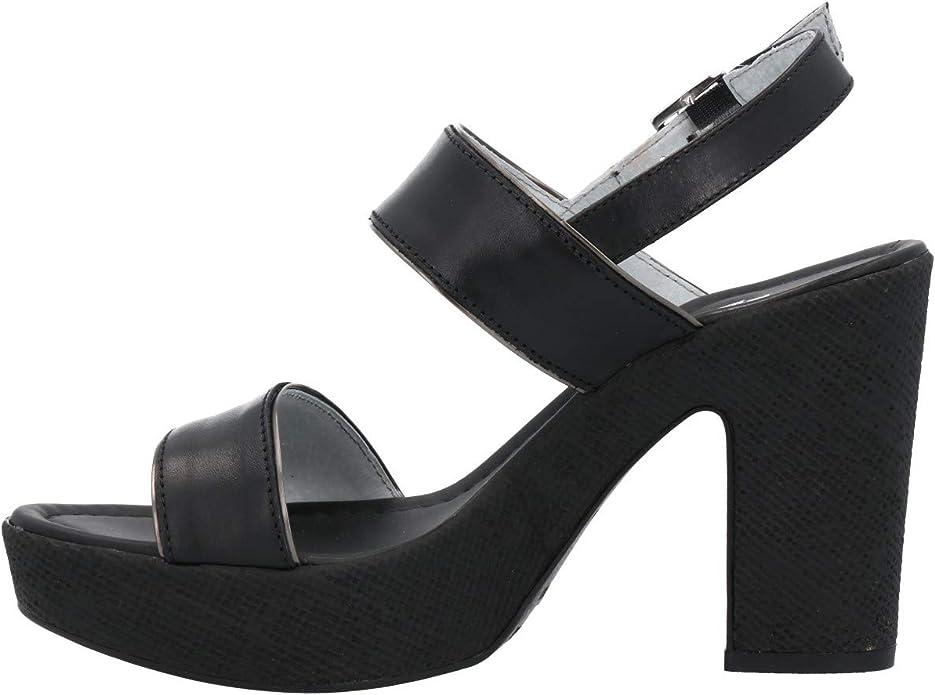 Nero Giardini Sandalo Nero Scarpe Donna P908122D 39: Amazon
