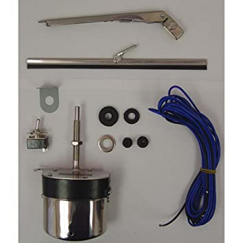 omix 19101.03 Motor para limpiaparabrisas Kit 12 V SS 59 - 71: Amazon.es: Coche y moto