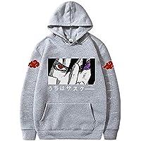 Proxiceen Naruto baskılı, kapüşonlu sweatshirt, erkek çocuk, kız çocuk, pamuk, uzun kollu sweatshirt, kapüşonlu kazak