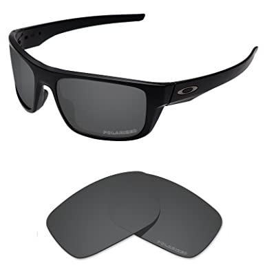 cb2b2fbb4cb Tintart Performance Lenses Compatible with Oakley Drop Point Polarized  Etched-Carbon Black