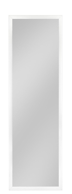 Your-homestyle Rahmenspiegel Wandspiegel Jonas, 45 x 144 cm, Weiß, für Schlafzimmer, Badezimmer, Wohnzimmer Garderobe und mehr geeignet