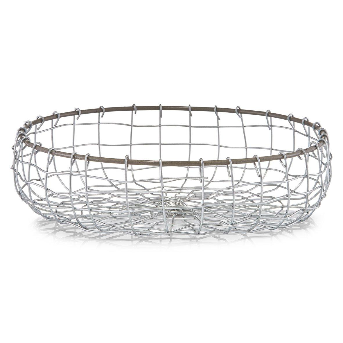 Zeller 27304 Brot-//Obstk/örbchen Metall rund