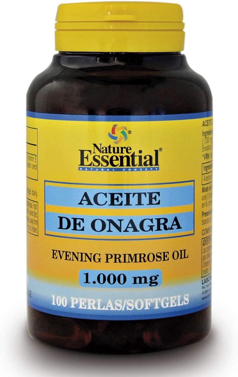 Aceite de onagra 1000 mg. (10% GLA) 100 perlas: Amazon.es: Salud y cuidado personal