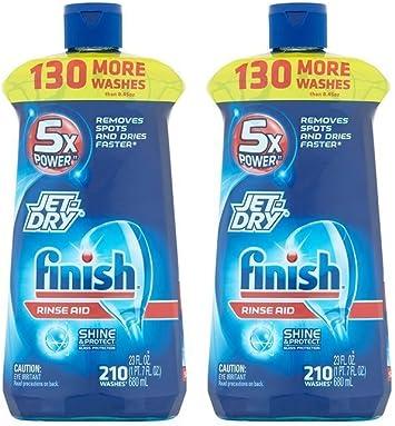 Finish Jet-Dry - Abrillantador para lavavajillas, agente de ...
