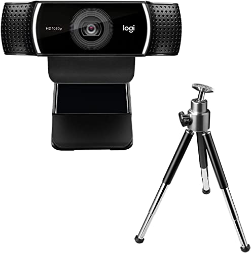 Logitech C922 Pro Stream Webcam with tripod stand