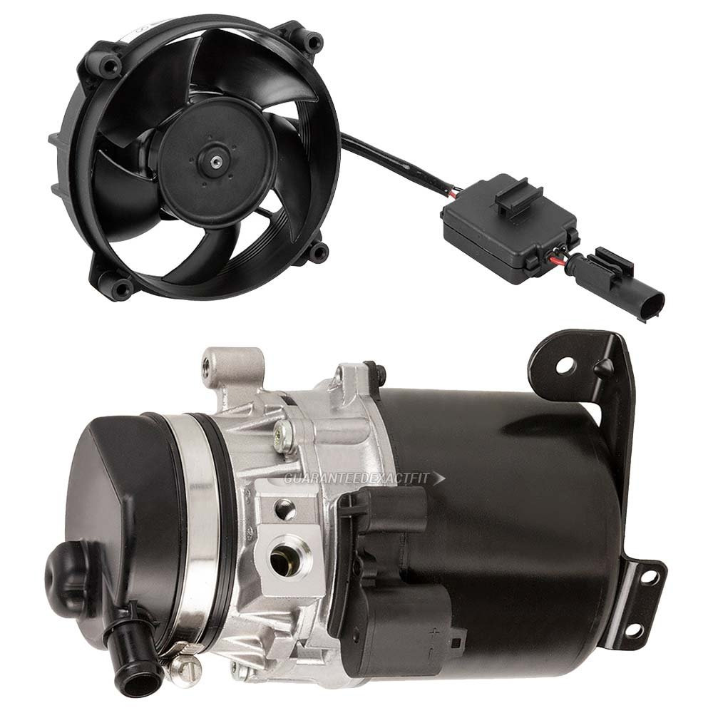 Oem Power Steering Pump And Cooling Fan Set For Mini Wiring Harness Front Mk 3 Cooper With Alternator 2002 2006 Buyautoparts 86 50015p1 New Automotive
