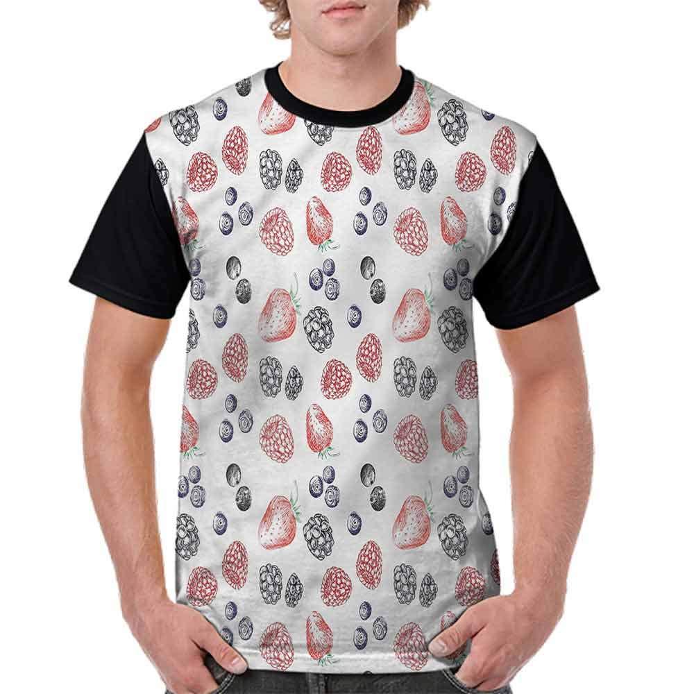 Fashion T-Shirt,Basket Braid Pattern Fashion Personality Customization