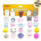 TELLA Premium Mochi Squishy Toys - Cute Mini