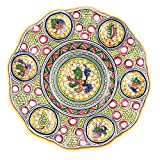 Coimbra Ceramics Hand Painted Decorative Wall Plate XV Century Recreation #192