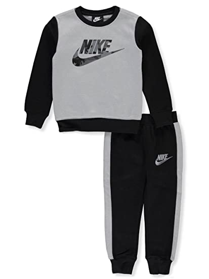 fd51452c60 Amazon.com: Nike Boys' 2-Piece Sweatsuit Pants Set: Sports & Outdoors