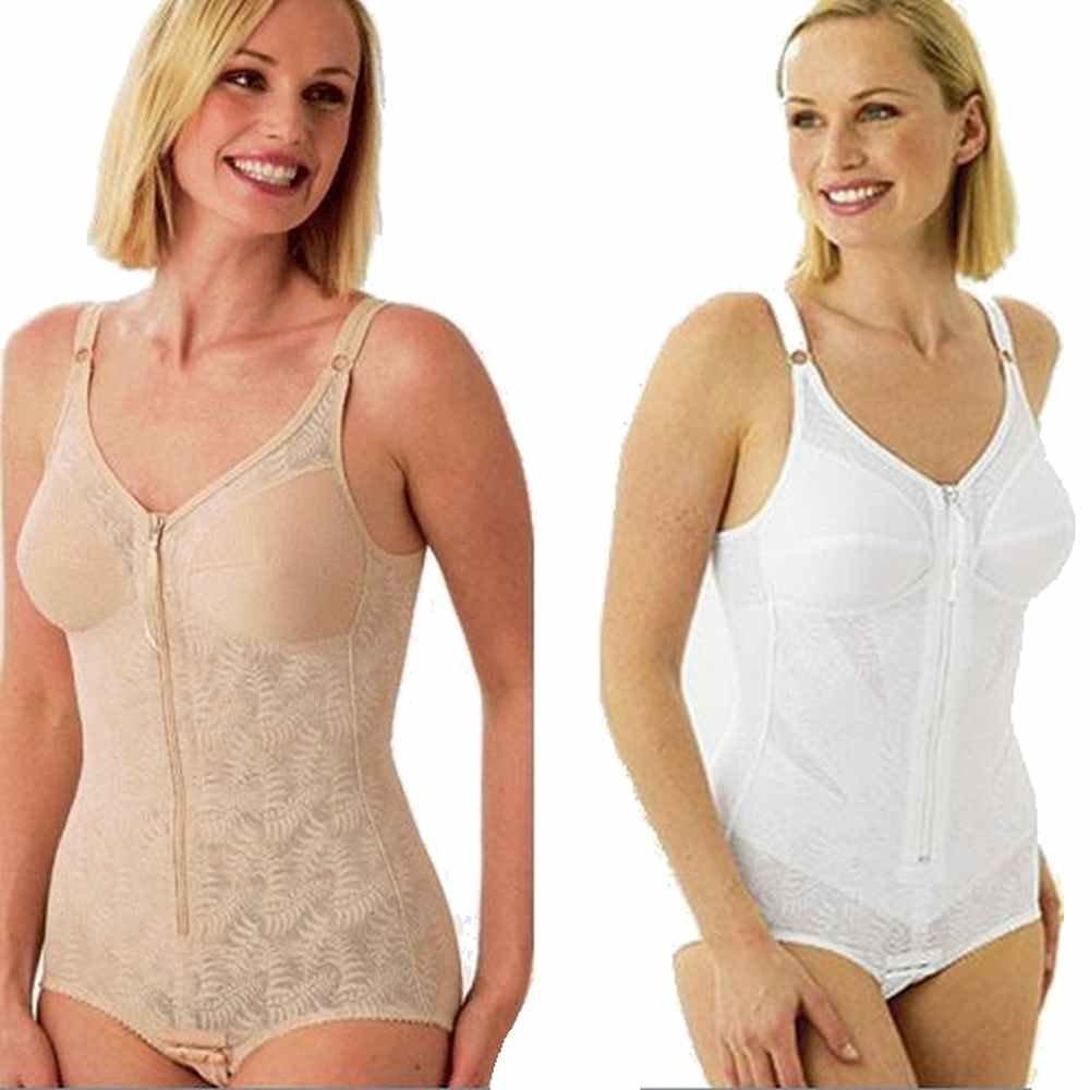 Miss Mary of Sweden 3745 Women's Firm Zip Corselett Body