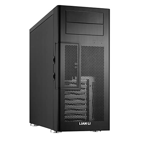 Lian Li PC-100B Carcasa de Ordenador Midi-Tower Negro - Caja ...
