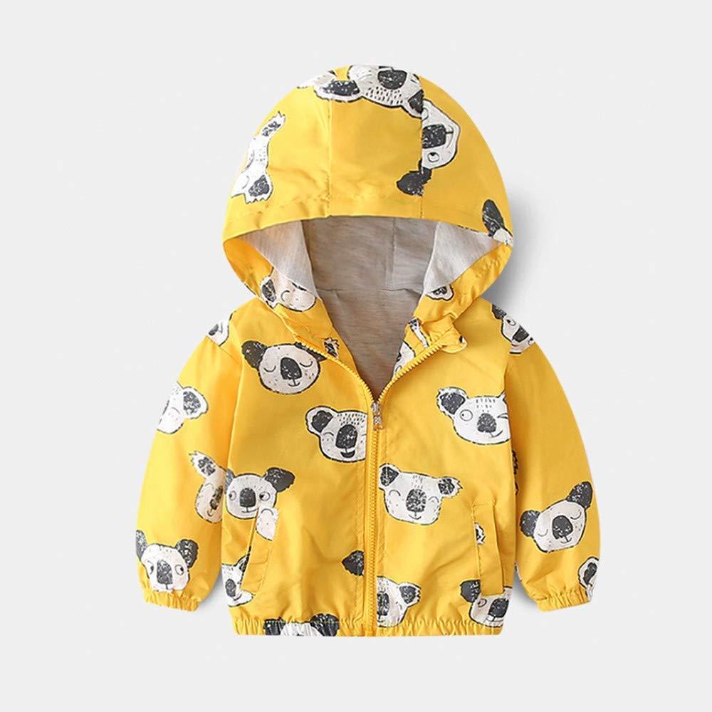 Londony▼ Clearance Sales,Baby Coats for Girls,Toddler Girls Cute Koala Hoodie Jacket Outwear Windbreaker Clothes